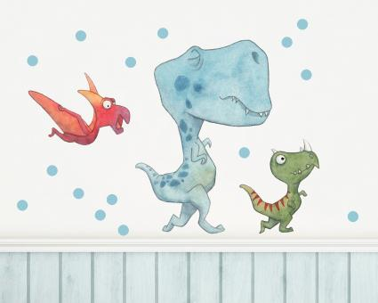 Stickerset Dinos